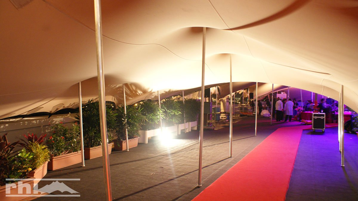Bedouin tent for an event in Singapore & Custom Tents u0026 Shade Sails | RHI Stretch Tents