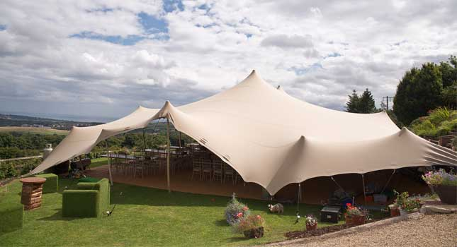 RHI Stretch Tents in Ireland u2013 21x15 chino side view & RHI Stretch Tents in Ireland | UK Projects