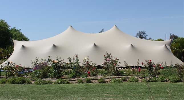 stretch-tent-rigging-tent-under-correct-tension & Common Stretch Tent Rigging Mistakes Can Be Avoided With These ...