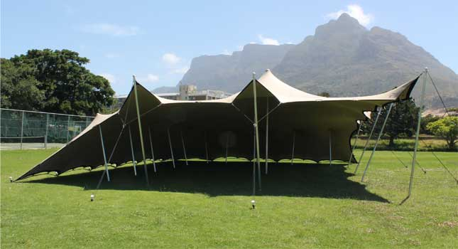 Stretch Tent Rigging