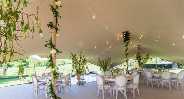 party and wedding tent d cor tips from the stretch tent gurus. Black Bedroom Furniture Sets. Home Design Ideas