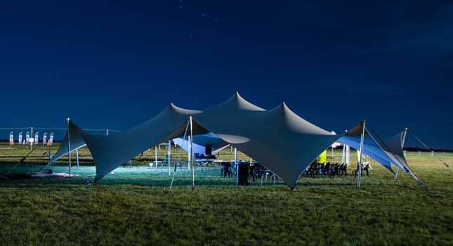 The perfect tent for high-tech outdoor events