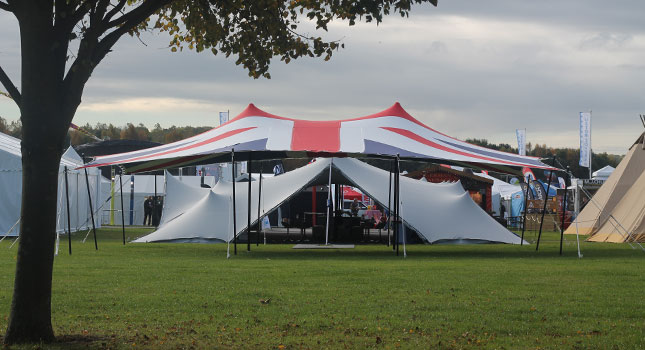 Union Jack Tent & The First Ever Union Jack Stretch Tent: Designed and Manufactured ...