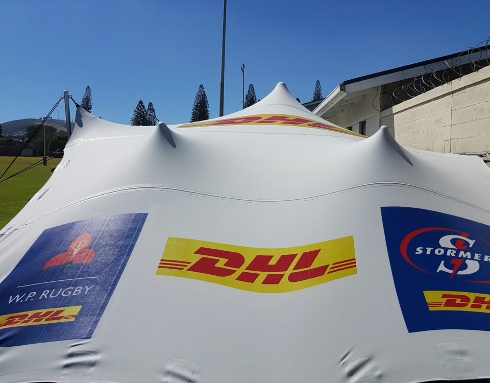 Sports spectator tents