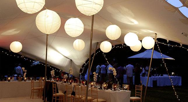 Stretch tent light: Fairy lights