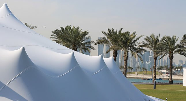 Stretch Tent Fabric Manufacturers