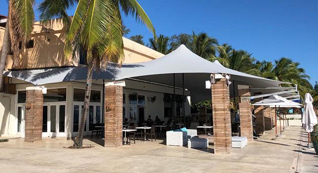 Nautilus Hotel Custom Stretch Tent