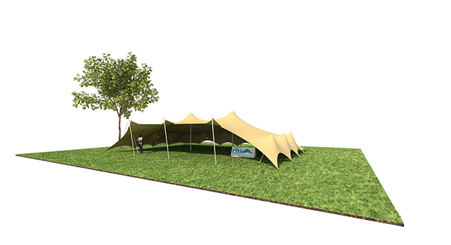 Tent Sizes: Stretch Tent With All Its Sides Down