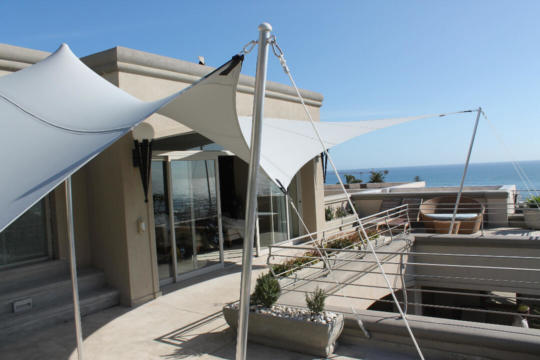 20 CUSTOM STRETCH TENT PRIVATE RESIDENCE GREY
