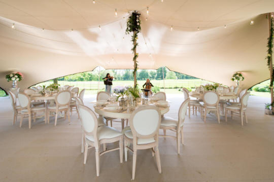 WEDDING 15X21 STRETCH TENT CHINO INTERNAL
